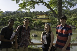 Visit to the Golden Pavilion.