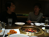 Dinner with Lab